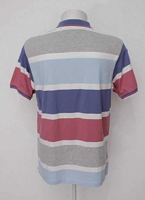 Camisa Polo listrada enrico rossi_foto de costas