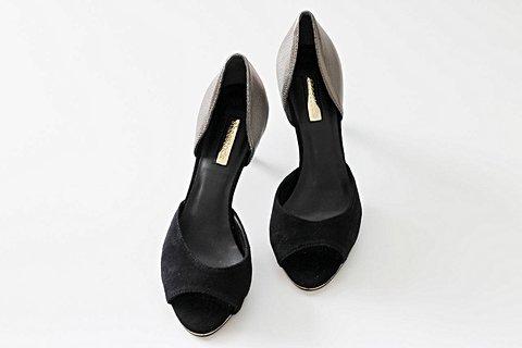 Sapato Peep Toe Shoestock _foto de frente