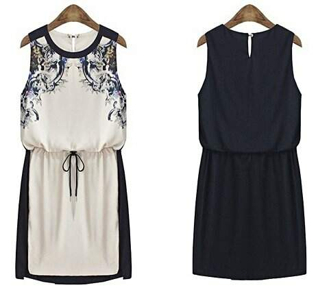 Vestido Preto & Branco _