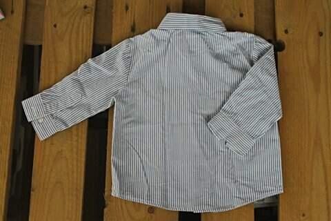 Camisa Infantil Listrada George_foto de frente