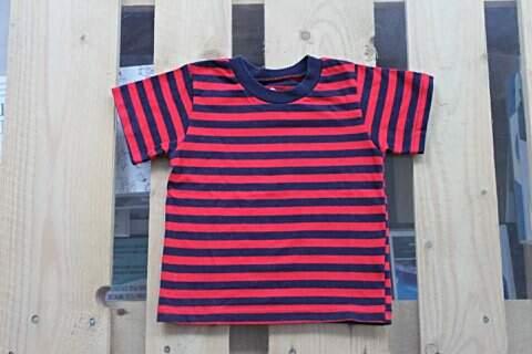 Camiseta Infantil Listrada_foto principal
