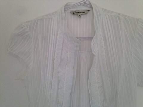 Camisa Branca Manga Curta _foto principal