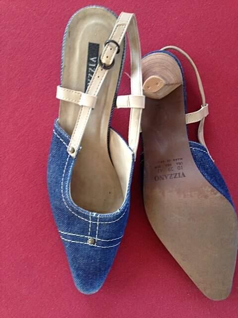 Scarpin jeans Vizzano _foto de frente