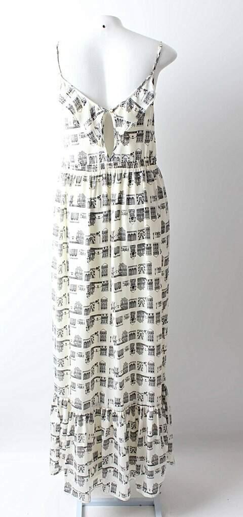 Vestido Longo Maria Filó para C&A_foto de costas