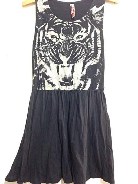 Vestido preto Tigre_foto principal