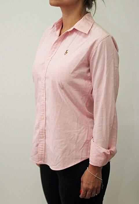 Camisa Ralph Lauren Rosa _foto principal