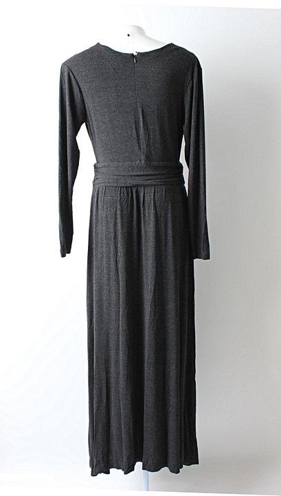 Vestido Cinza Antonia  - TAM M_foto de costas
