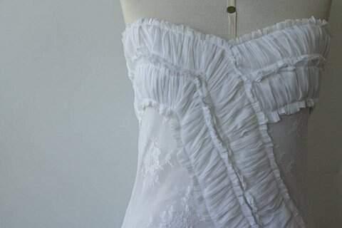 Vestido de Renda Longo _foto principal