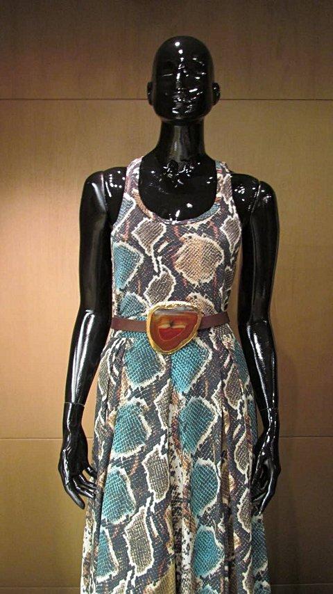 Vestido Python Lalah _