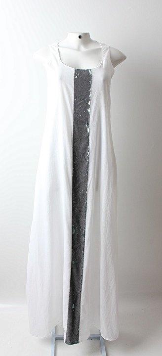 Vestido Auá Longo Branco - TAM 42_foto principal