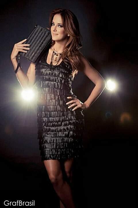 Vestido de Franja Preto _foto principal